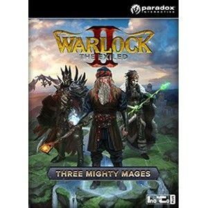 Warlock 2: The Exiled - Three Mighty Mages (PC) DIGITAL