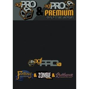 MEGA BUNDLE: AGFPRO + Premium + Zombie + Fantasy + BattleMat (PC/MAC/LINUX) DIGITAL