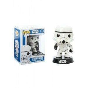 Figúrka POP! Star Wars - First Order Stormtrooper Vinyl Booble-Head