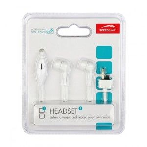 Speed-Link Headset for NDSi/NDSi XL, white
