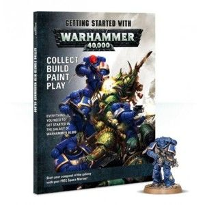 Časopis Games Workshop - GETTING STARTED WITH WARHAMMER 40K