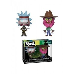 Figúrka Funko VYNL 2-Pack: Rick & Morty - SEAL Rick and Scary Terry