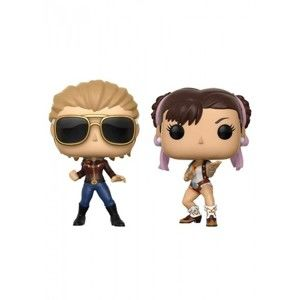 Figúrka POP! 2-Pack: Capcom vs. Marvel: Captain Marvel vs Chun-Li