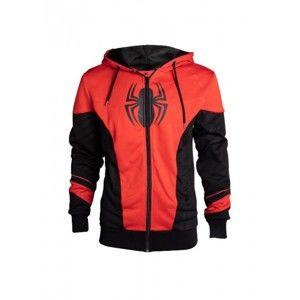 Mikina Spiderman - Red & Black S