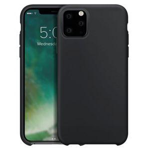 Xqisit Silicone Case pro iPhone 11 Pro černá
