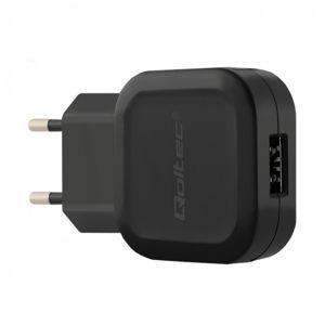 Qoltec 12W 5V 2.24A USB černá