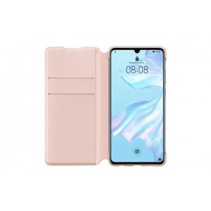 Huawei Wallet Cover pro P30 růžový