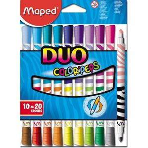 Flamastry Maped Colorpeps Duo 10 ks