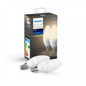 Philips Hue E14 6W W BT 2 ks