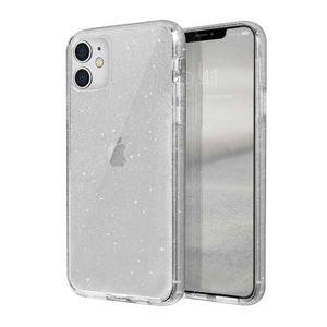 UNIQ LifePro Tinsel iPhone 11 průsvitný