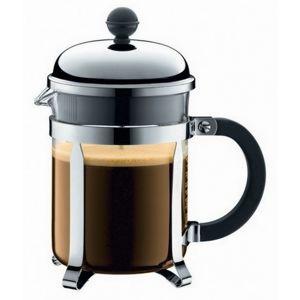 Bodum Chambord French Press 4 cup - 500 ml stříbrný