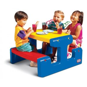 Little Tikes Junior Picnic Table Primary 479500070