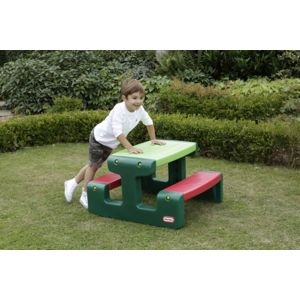 Little Tikes Junior Picnic Table Evergreen 479A00060