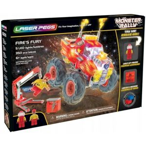 Laser Pegs Monster Rally Fire Fury 18200