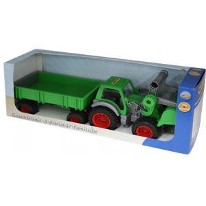 Wader Farmer Technic, traktor s přívesem 37770