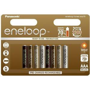 Panasonic Eneloop Earth R03/AAA 750mAh (8 ks)