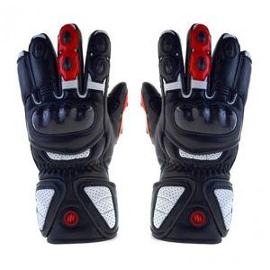Glovii vyhřívané motocyklové rukavice, L, černé