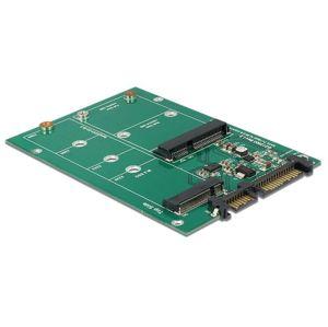 DeLock adaptér SATA 22 pin, M.2 NGFF/mSATA (62670)