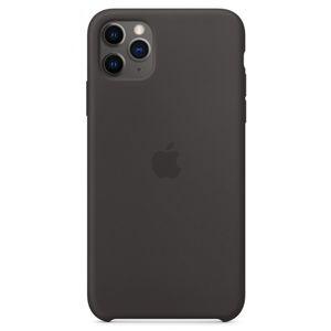 Apple iPhone 11 Pro Max Silicone Case černý