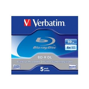 BD-R Blu-Ray Verbatim 50GB 6x (jawel case) - 1 ks