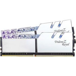 G.Skill Trident Z Royal DDR4 16GB (2x8GB) 3000MHz CL16 1.35V XMP stříbrná F4-3000C16D-16GTRS
